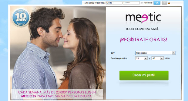 Meetic gratis 3 días