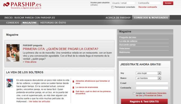 sitios gratuitos para encontrar parejas en Parship Sitios gratuitos para encontrar pareja: internet te lleva de la mano
