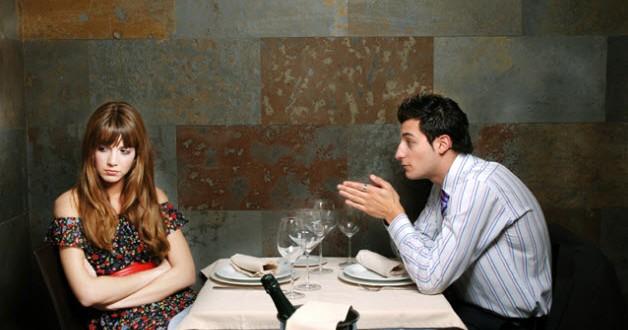 Citas en restaurantes: consejos para fracasar rotundamente