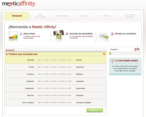 Meetic es fiable