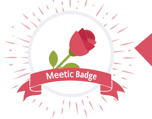 meetic badge